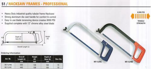 hacksaw frames - professional