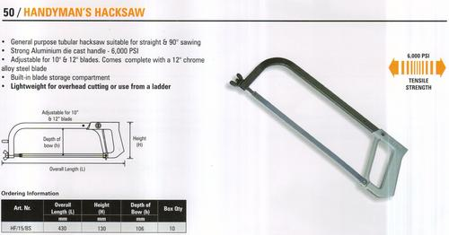 handyman's hacksaw