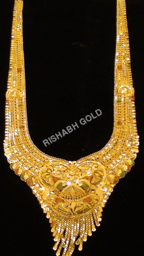 Wedding Fancy Gold Necklace
