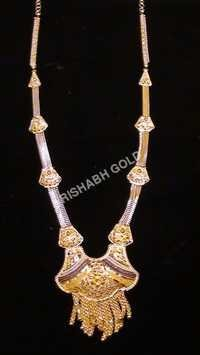 Ladies Fancy Gold Necklace