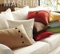 Pillow Cover Coconut Buttons