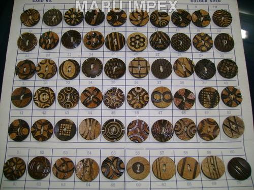 Designer Coconut Buttons