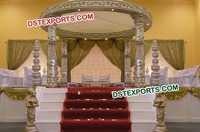 Fiber Crystal Bollywood Mandap Set