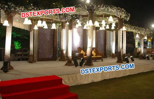 Wedding Crystal Stage Set