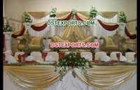 Muslim Wedding Gold Furniture Stage