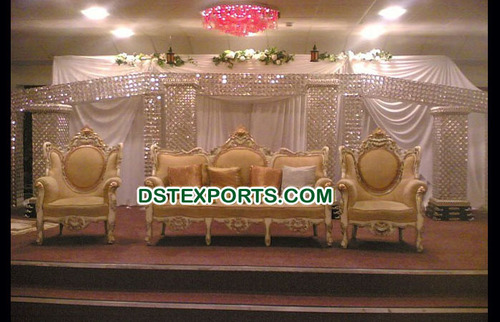 Royal Wedding Crystal Stage Set