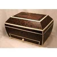 Camel Bone Edges Cash Box