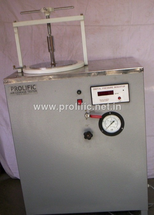 Air Leakage Tester for exhaust seals