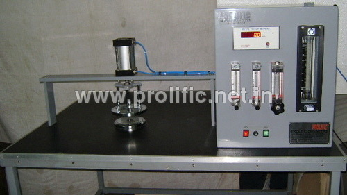 Air Permeability Tester for full size fabrics