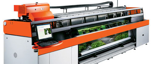 Digital Inkjet Uv Multi Roll Printer