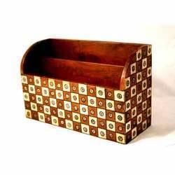Wooden Envelope Holder