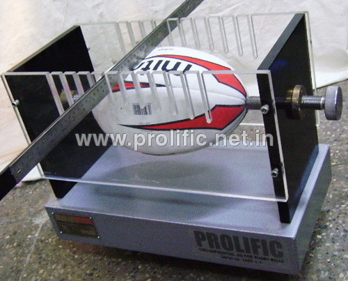 Circumferential Jig for Rugby ball