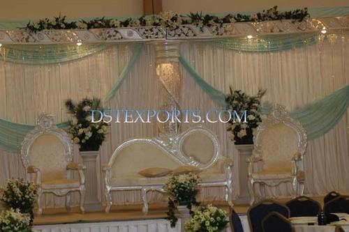 Wedding Silver Furniture