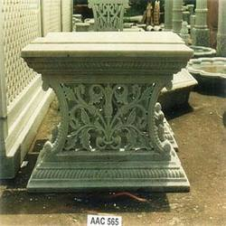 Marble Carved Bases