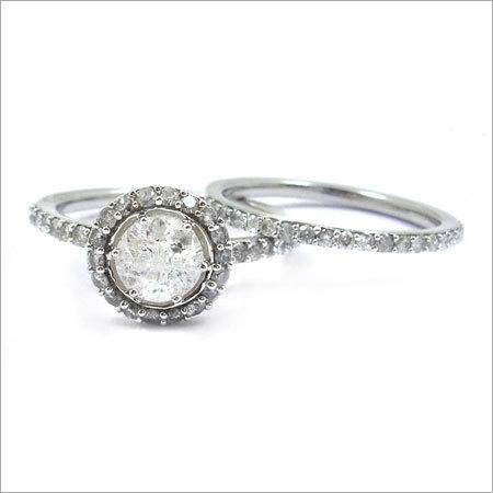 Diamond Sterling Silver Rings