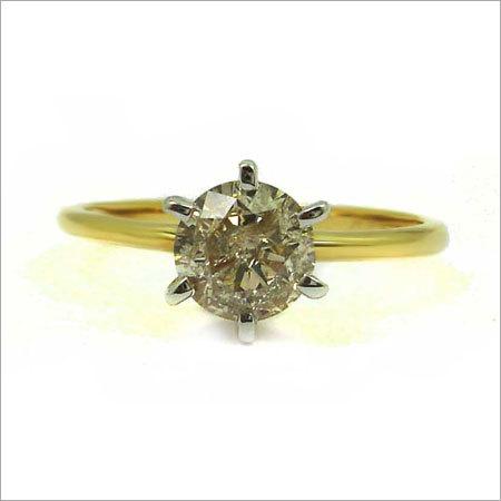 Designer Diamond Gold Ring