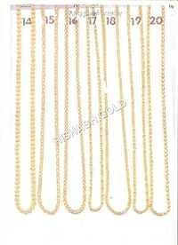 Pure Rajdhani Gold Chain Set