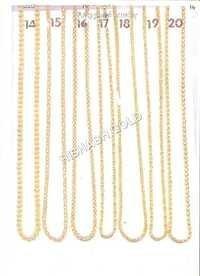 Pure Rajdhani Gold Chain Set