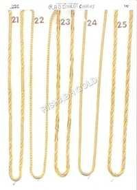 Pure Rajdhani Gold Chain