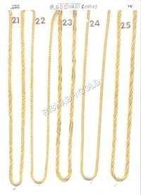 Pure Rajdhani Gold Chain
