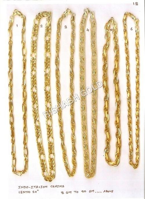 Yellow Gold Neck Chain