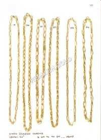 Fancy Indo Italian Gold Chain Set
