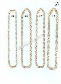 Fancy Gold Chain Set