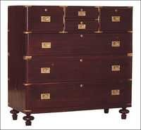 ROSEWOOD COLONIAL CHEST OF DRAWERS