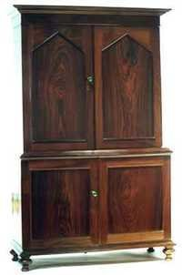 Rosewood Colonial Linen Press