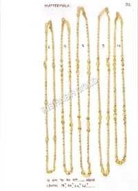 Trendy Gold Chain Set