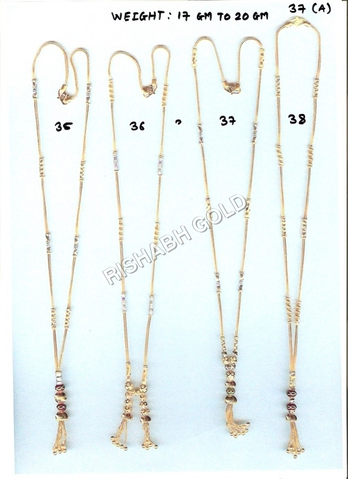 Ladies Mangalsutra Gold Chain