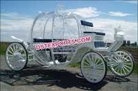 New Cinderella Wedding Carriage