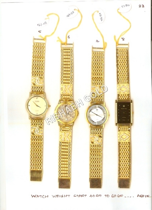 Designer Gold Watches