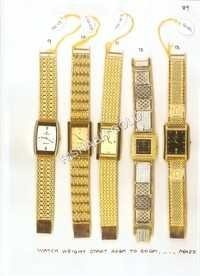 Trendy Gold Watches