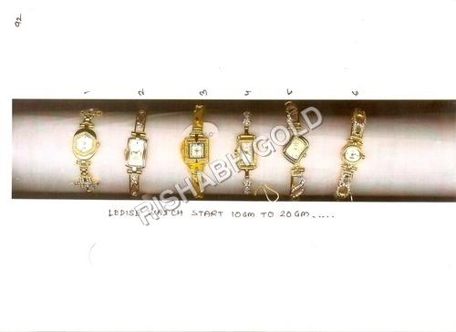 Ladies Gold Wrist Watches