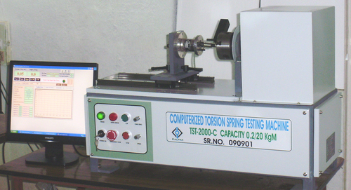 Computerized Torsion Spring Testers
