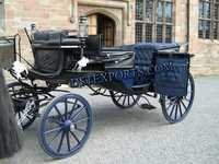Black Horse Drawn Carriage