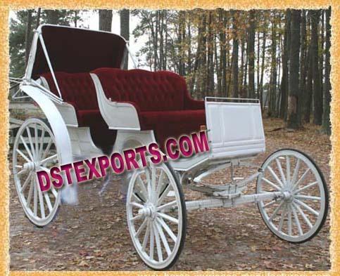 Wedding Victoria Horse Carriage