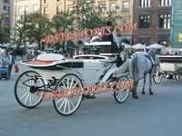 White Victoria Grand Carriage