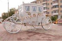 Royal Family White Carriage