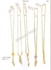 Dokiya Gold Chain Set