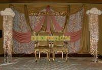 Wedding Stages Crystal Pillars