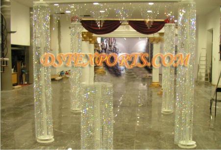 New Wedding Crystal Pillars