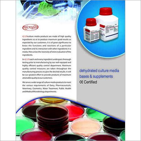 Microgen Dehydrated Culture Media
