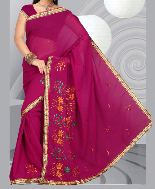 Ethnic Ladies Sarees