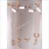 Ladies Fancy Gold Chain