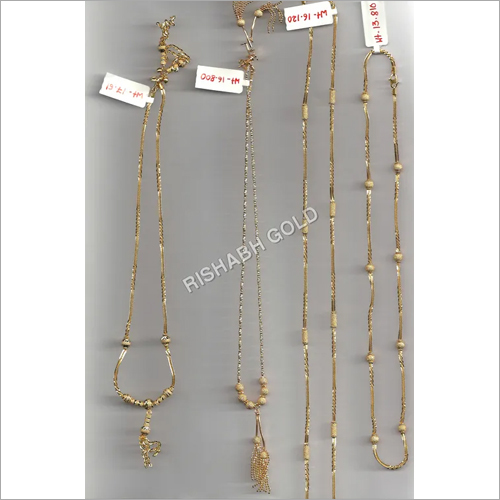 Ladies Gold Mangalsutra