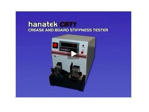 Crease & Board Stiffness Tester
