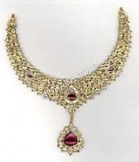 Ladies Designer Meena Necklace