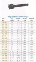 impact extension bars